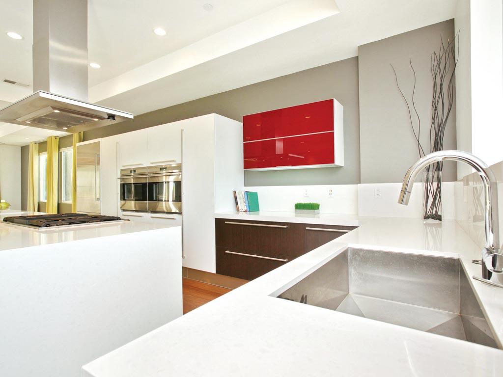L Shaped Kitchen Countertop Kitchen Design Ideas
